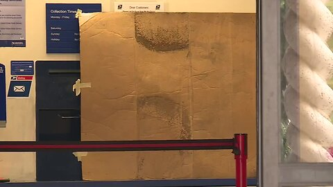 Thief or thieves cut through drywall to break into Tequesta Post Office