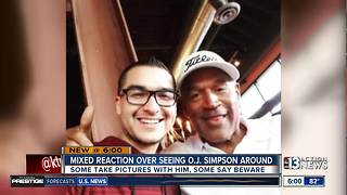 O.J. Simpson sightings in Summerlin draw mixed reactions - Video