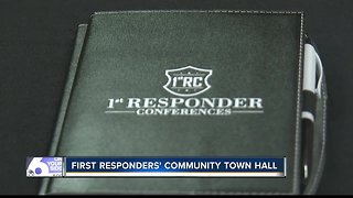 First responders hold community town hall