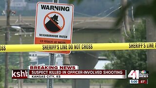 KCK police: Suspect killed in officer-involved shooting