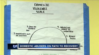 Domestic abusers seek treatment
