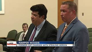 Former Harper Woods police officer charged with stealing heroin - Video