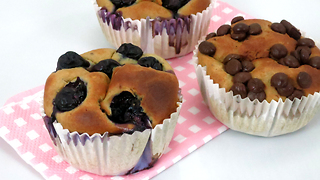 Use a blender to make these delicious muffins - Video