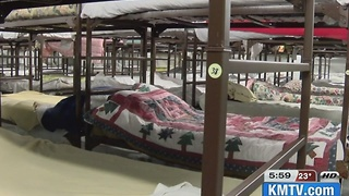 Homeless shelters prepare for cold - Video
