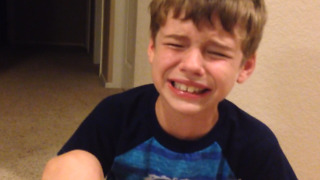 Boy Cries After Finding Out He Was Breastfed - Video