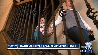 Asbestos spill costs Littleton family everything - Video
