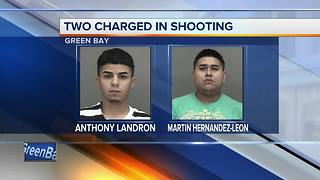 Two men charged in connection with Green Bay shooting - Video