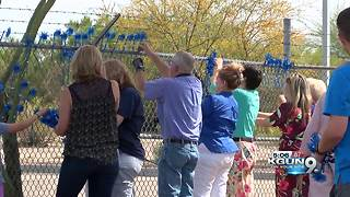The Southern Arizona Children's Advocacy Center tackles remembers victims of abuse - Video