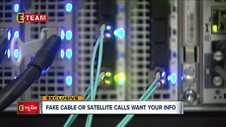 Fake cable satellite calls want your info