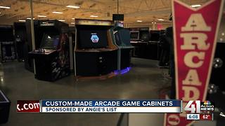 Angie's List: Custom-made arcade game cabinets - Video