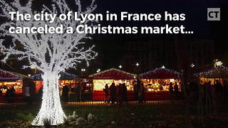 Terrorism Cancels Christmas Market - Video