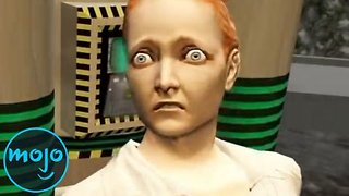 Top 10 Hilarious Video Game Deaths - Video