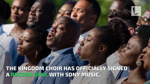 Gospel Choir That Earned Fame from Royal Wedding Performance Signs Record Deal