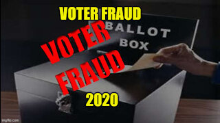 Voter Fraud 2020 Election