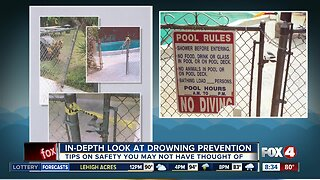 Unique water safety tips
