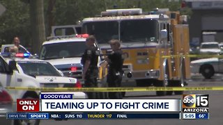 West Valley police departments teaming up to solve violent crime