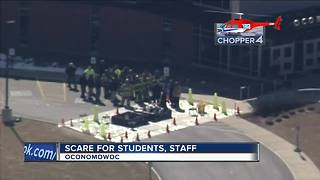 Scare for students, staff after Oconomowoc High School evacuation