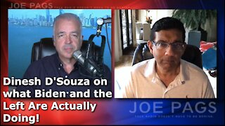 Dinesh D'Souza Breaks Down What The Left Is Actually Doing!