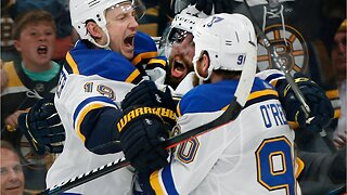 Blues beat Bruins in brutal game 5