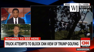 Secret Service Responds To Cnn Complaints About Truck Blocking Cameras From Filming Trump