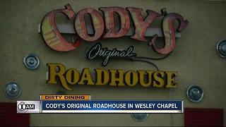 Dirty Dining: Cody's Roadhouse had live roaches - Video