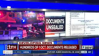 Hundreds more of 1 Oct. documents unsealed - Video