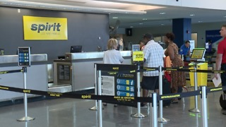 Budget airlines fill void United left behind at Hopkins - Video