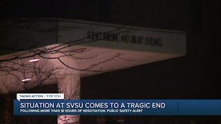 Saginaw Valley State University shuts down Friday after employee death in campus building