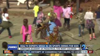 Health officials against sports drinks for kids - Video