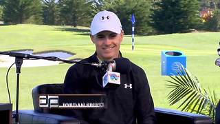 Jordan Spieth Reveals What Happens When Tom Brady Loses At Golf - Video
