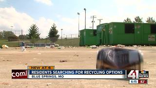 Blue Springs Pink Hill Park Recycling Center closes - Video