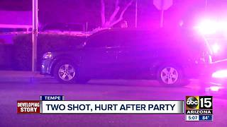 BREAKING: Two people shot at Tempe party