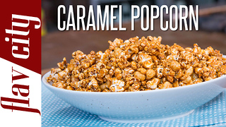 Homemade Cracker Jack - Salted Caramel Popcorn - Video