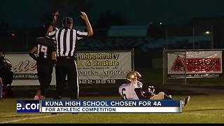Kuna High School Chosen for 4A Athletic Competition - Video