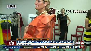 Dress for Success Fashion Show Fundraiser - Video