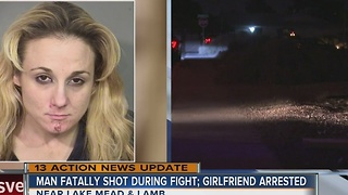 UPDATE: Man fatally shot by girlfriend during argument - Video