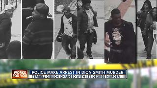 Police arrest man in murder of Dion Smith - Video