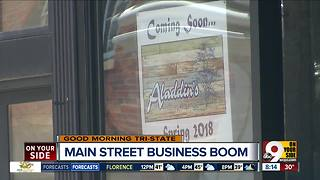 Over-the-Rhine's Main Street booming with new restaurants, shops and offices - Video