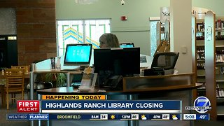 Highlands Ranch library closing for renovations