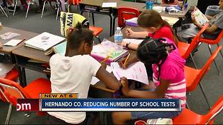 Hernando County Schools reduce testing for students - Video