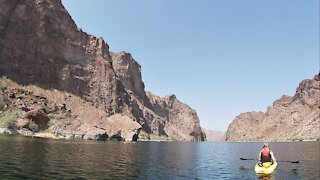 Emerald Cove Kayaking the Colorado River