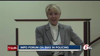 Indianapolis police holds forum on bias policing - Video