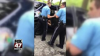 Mother of teenage boy arrested not happy with officers' punishment