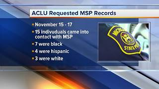 ACLU calling for MSP to investigate recial profiling - Video