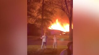 Crews continue to investigate home explosion in Commerce Township