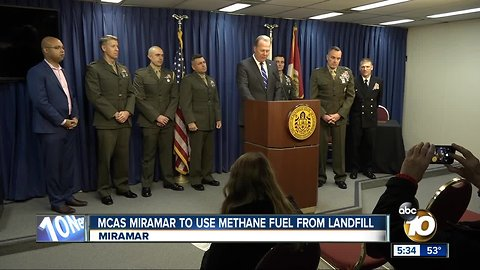 MCAS Miramar to use methane fuel from landfill