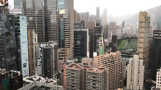 Timelapse Shows Clouds Roll Over Hong Kong Ahead of Typhoon Khanun - Video