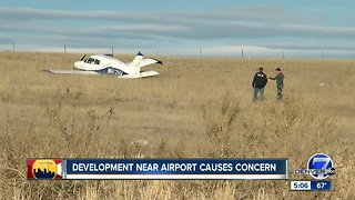 Development near airport causes concern