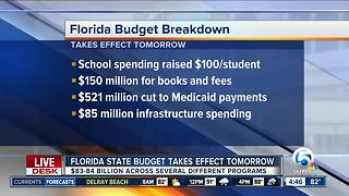 Hard-fought Florida budget finally takes effect - Video