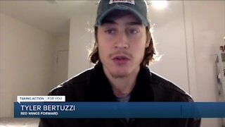 Tyler Bertuzzi not disappointed with one-year deal, out to prove himself again
